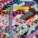 Assorted Pieces of Printed Grosgrain Ribbons for Alligator Clips PLUS BONUS