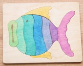 Tray Puzzle - Blowfish
