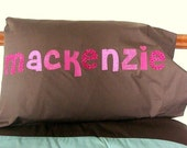 Girls Personalized Pillow case