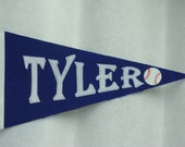 Boy's Personalized Pennant