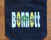 Boy's Large Personalized Tote
