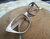 Vintage Aluminum Cat Eye Eyeglasses Frames from Artcraft - 50's 60's