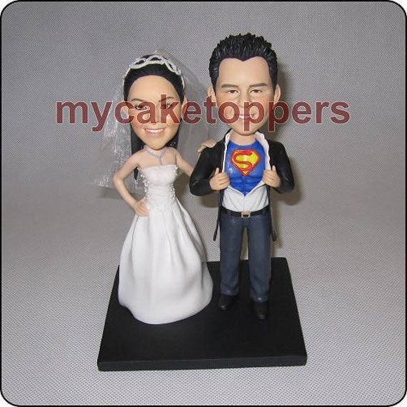 customizable wedding cake toppers and groom custom wedding cake topper form your photo 3258