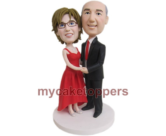 50th Anniversary cake topper, Anniversary gift, parents gift