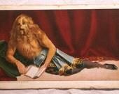 Lionel the Lion Faced Man Original Victorian Freak Show Postcard