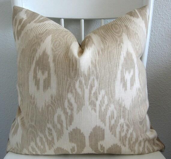 Decorative Pillows Covers 18x18 : Decorative pillow cover Throw pillow Ikat pillow 18x18