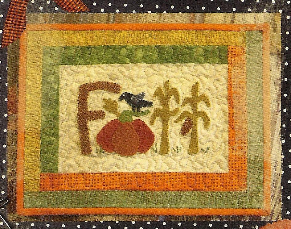 Primitive Folk Art Quilt Pattern Best Of All : Primitive Folk Art Quilt Table Mat Pattern: by PrimFolkArtShop