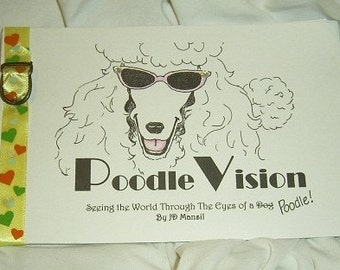 PoodleVision Handmade Humor Book FREE Shipping