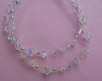 Aurora Borealis Swarovski Bracelet