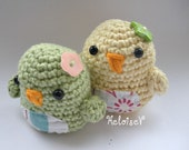 Crochet Easter Chick - one chick - choose your color