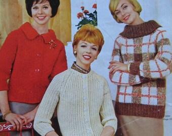 Knitting Pattern Book Vintage Fleischer's