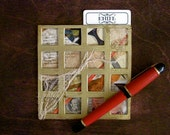 Mixed Media Collage Original Art for Gamers - Clue, Game of Life, D&D, Murdery Mystery
