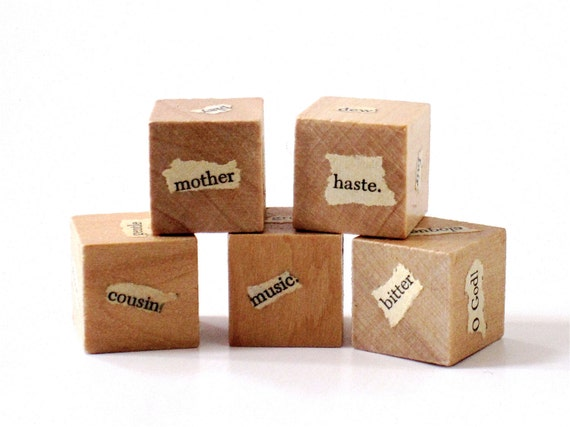 Writer Dice Stocking Stuffer for Writers - Prompts from Shakespeare (Set  No. 3)