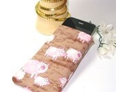 iPhone Case \/ iPod Touch Cozy Pouch \/ PINK PIG Theme