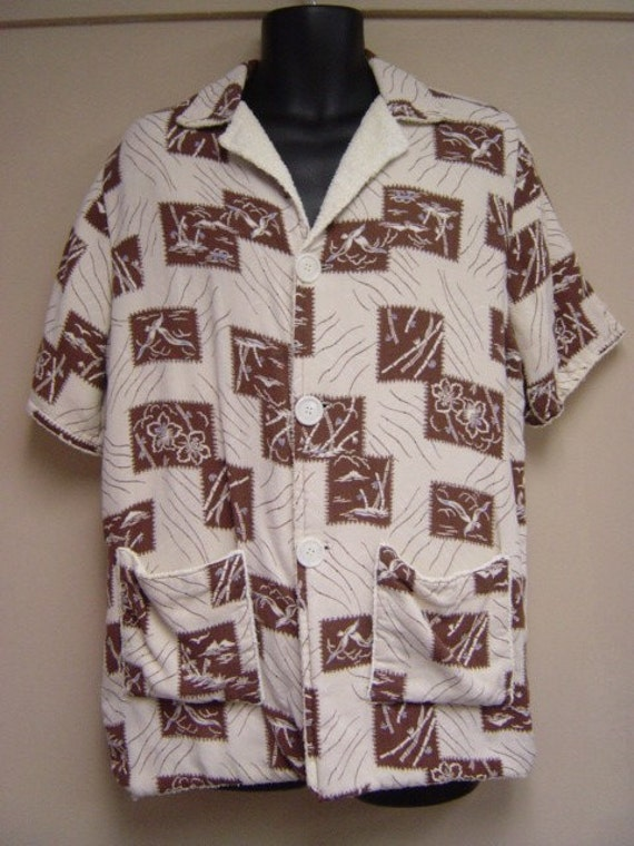 Mens Terry Cloth Shirt