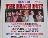 THE BEACH BOYS Best Of Volume 1 lp 1966 Very Clean Copy Rare Vinyl Record Album