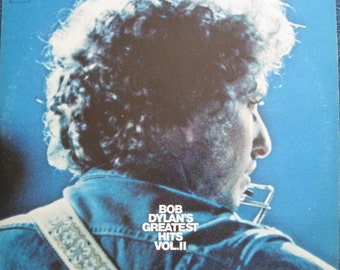 BOB DYLAN Greatest Hits Vol 2 Double lp 1971 Vinyl Record Album