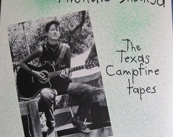 MICHELLE SHOCKED The Texas Campfire Tapes 1986 Promo Vinyl Record Album Near MINT