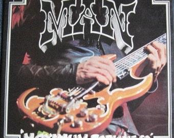 MAN - MAXIMUM DARKNESS Lp 1975 Original Vinyl Record Album Near Mint