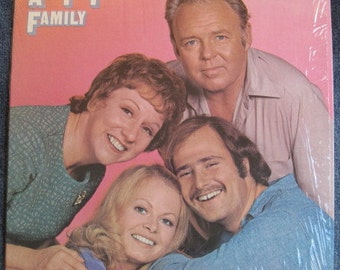 All In The Family Lp 1971 Original Vinyl Record Album Near Mint With Insert