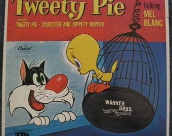 TWEETY PIE  SYLVESTER And Hippety Hopper Mel Blanc Lp 1974 Vinyl Record Album Near Mint