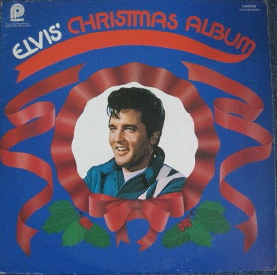 Elvis Christmas Album 1970 Pickwick Pressing Vinyl Record