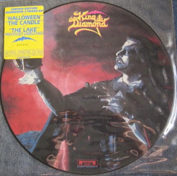 King Diamond Halloween The Candle The Lake Picture Disc Ep