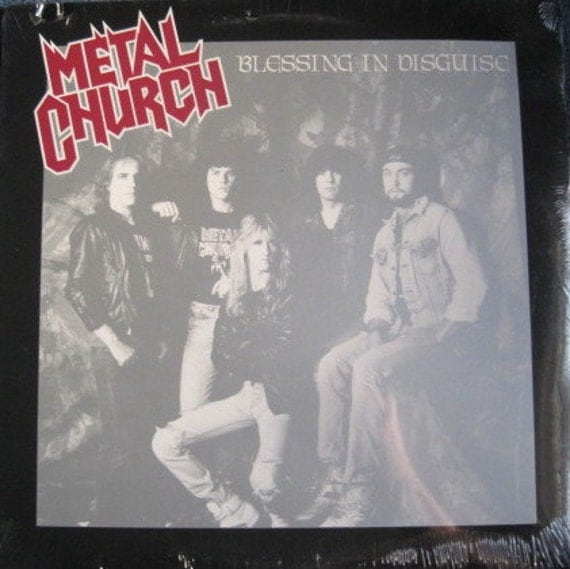SEALED METAL CHURCH Blessing In Disguise Lp 1989Vinyl Record Album Mint