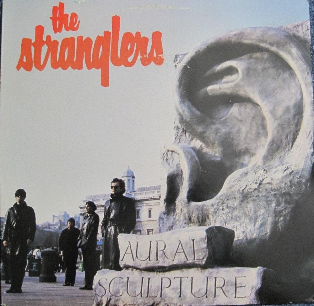 The Stranglers Aural Sculpture Lp 1986 American Epic Pressing