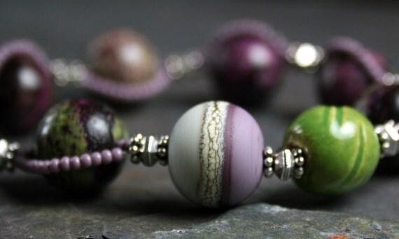 lavender fields - color palette inspiration - treasures for your wrist