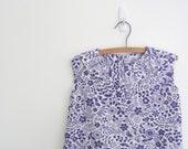Girls Dress Tunic Jumper - purple therapy