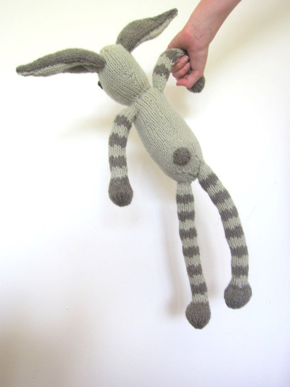 Rabbit Bunny knitted soft toy