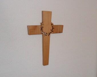 Wooden Wall Cross C5