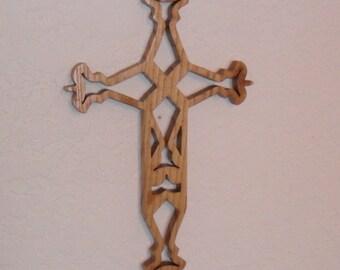 Wooden Wall Cross C9