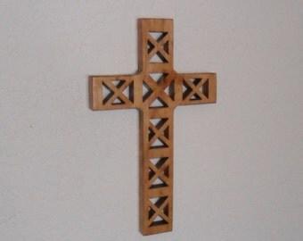 Wooden Wall Cross C1