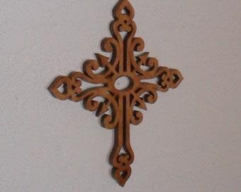 Wooden Wall Cross C50