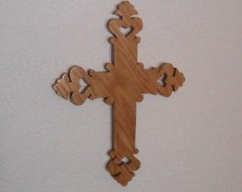 Wodden Wall Cross C51