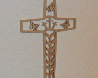Wooden Wall Cross C33