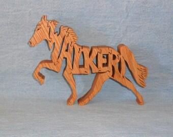 Walker Horse Wooden Puzzle