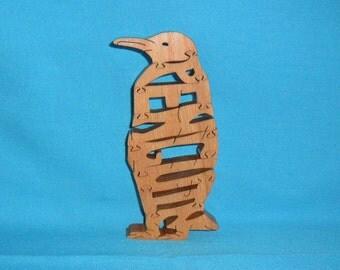 Penguin Wooden Puzzle