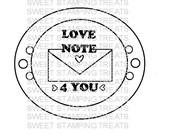Love Note 4 You - digi stamp