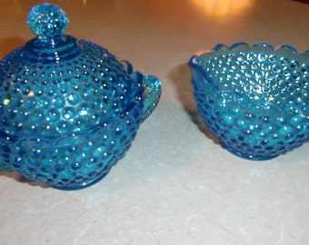 Sugar & Creamer Glass Dishes  EPSteam