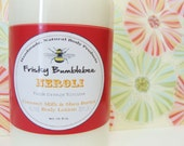 Neroli - Coconut Milk & Shea Butter Body Lotion 8oz- FREE Shipping in US- Fresh Orange Blossom
