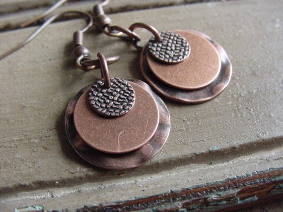 Classic Copper Collection / Arlington Earrings