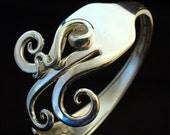 Fork Bracelet Eco Friendly Upcycled Antique Silverware Spoon Jewelry
