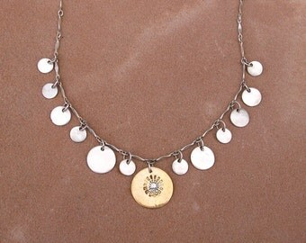 Sparkling Sunburst Necklace