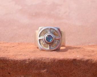 Opal Medicine Wheel Ring
