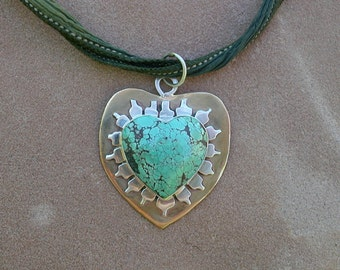 Turquoise Heart of the Lotus