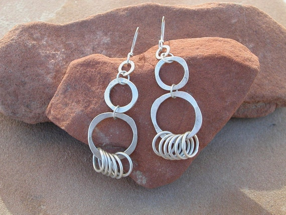 Circles Within Circles Earrings