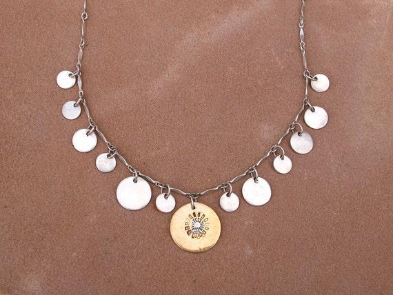 Sparkling Sunburst Necklace